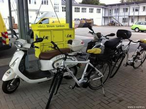 Individuelle Mobilität mit etwas elektrischer Hilfe - ein tolle Lösung wenn es nicht regnet