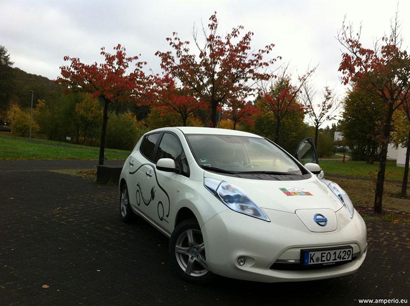 LEAF ist ein genialer Botschafter bequemster eMobilität