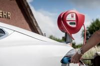 Die 20 kWh Wandladestation für Daheim oder am Arbeitsplatz - sogar für das Model S von TESLA