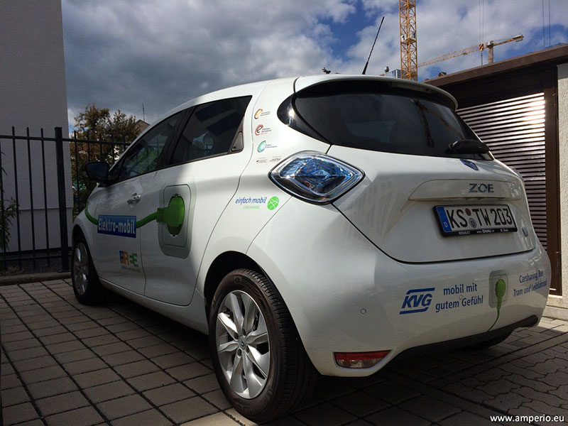 13. In Kassel wird der ZOE im CarSharing angeboten