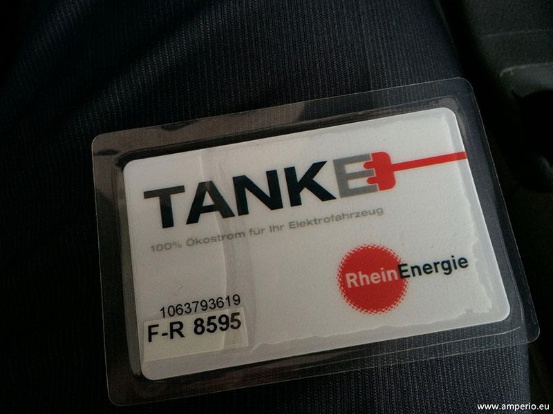 2. RFID Ladekarte zur Identifikation und Abrechnung