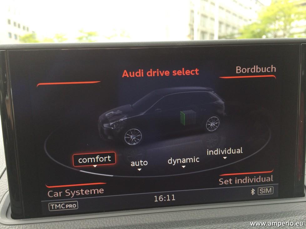 3. Diesen Bildschimrt kennt man bei Audi