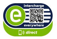 Intercharge direct Logo mit QR code