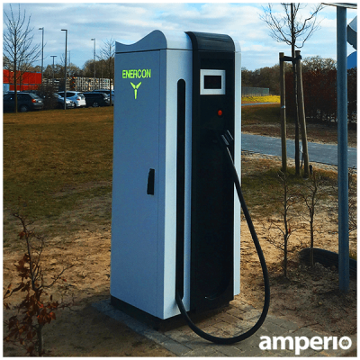 Enercon echarger 600 kw dc HPC Schnelladestation made in Germany