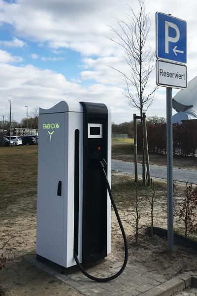 erste eindrücke vom enercon e-charger 600kW, HPC Schnellladesäule made in germany