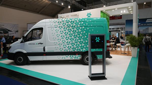 Power2Drive Elektromobilität und regenerative Energien eauto elektroauto messe ladestation