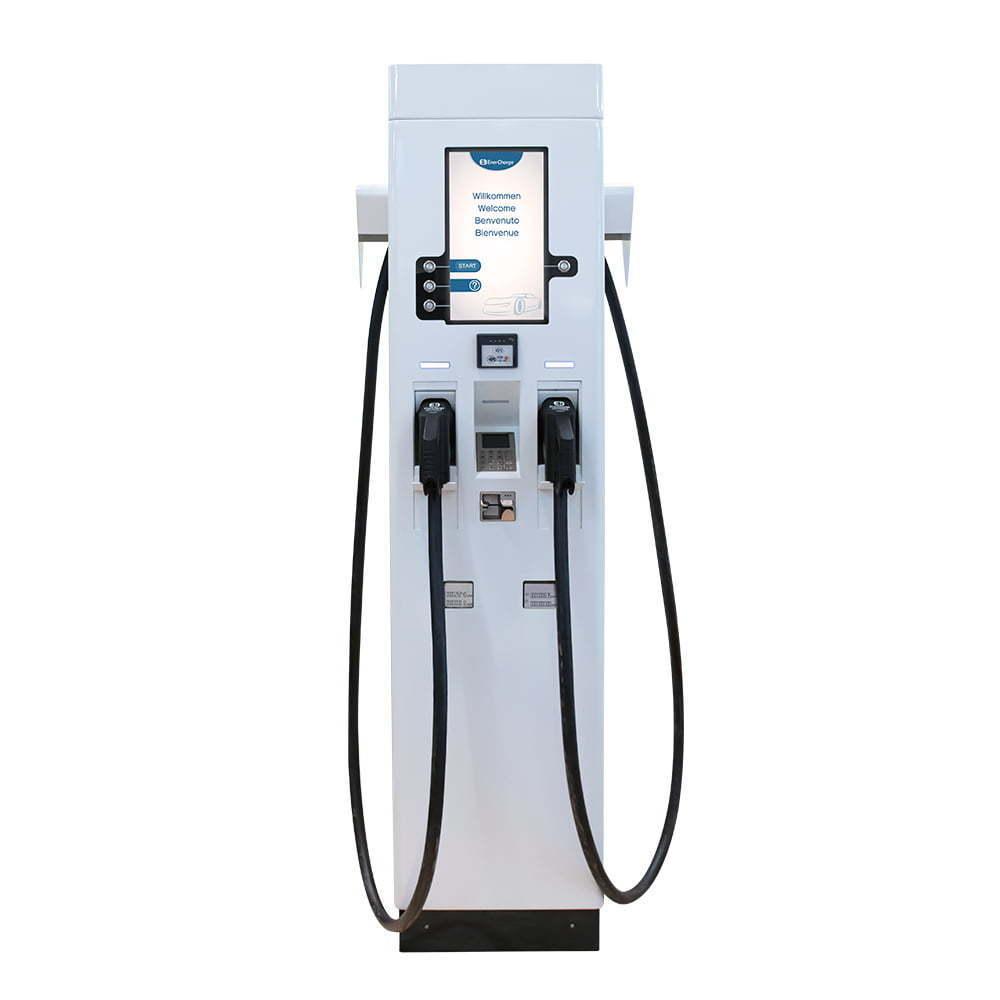 Enercharge DC FastCharger von vorne
